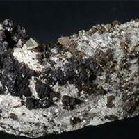 Freibergite Siderite & Chalcopyrite