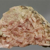 Rhodochrosite & Quartz