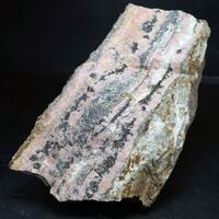 Rhodochrosite Sphalerite & Argentite