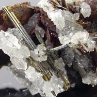 Emplectite & Siderite Quartz