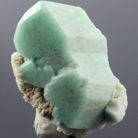 Microcline Var Amazonite & Albite
