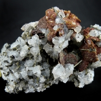 Emplectite On Quartz