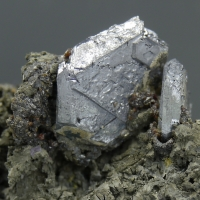Galena On Argentopyrite