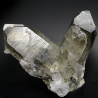 Smoky Quartz Var Rutilated Quartz