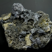 Stephanite Argentite & Argentopyrite