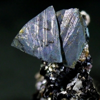 Tetrahedrite On Siderite