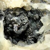 Native Bismuth On Baryte