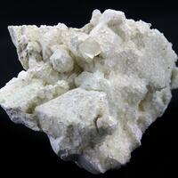 Calcite On Calcite Psm Apophyllite