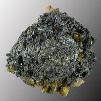 Freibergite & Chalcopyrite