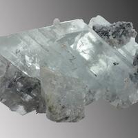 Selenite Sphalerite & Calcite