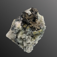 Native Silver Argentite & Proustite