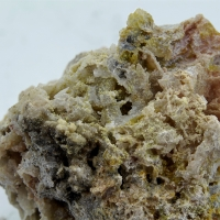 Plumbojarosite & Native Silver
