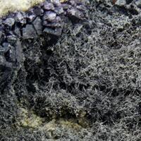 Emplectite & Fluorite