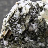 Native Silver In Fluorite