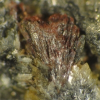 Kermesite & Native Antimony