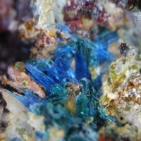 Carbonatecyanotrichite & Langite