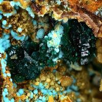 Brochantite Carbonatecyanotrichite & Felsőbányaite