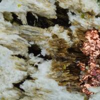 Poppiite & Copper & Goldmanite