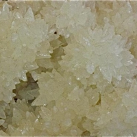 Calcite On Quartz Psm Anhydrite