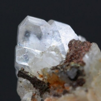 Pyrite With Apophyllite & Dolomite