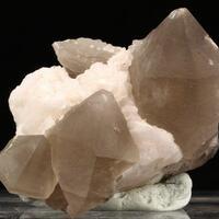 Smoky Quartz & Calcite