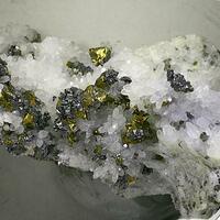 Bournonite & Chalcopyrite
