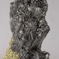 Calcite & Siderite Psm Stibnite