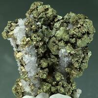 Quartz Psm Stibnite & Chalcopyrite