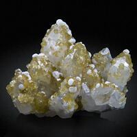 Quartz Siderite & Calcite