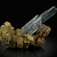Gypsum Boulangerite & Calcite