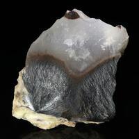 Stibnite In Opal