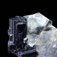 Bournonite & Fluorite