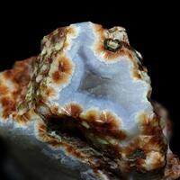 Ferrierite-Mg In Chalcedony