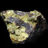 Gold & Wavellite