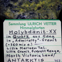 Molybdenite & Ferrimolybdite