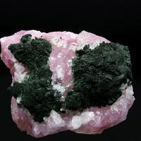 Malachite & Cobaltoan Calcite