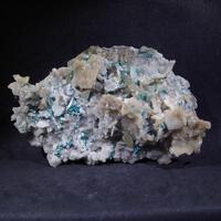 Rosasite Calcite Baryte & Quartz