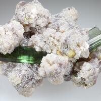Elbaite Lepidolite Topaz & Microlite