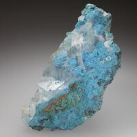 Plancheite & Calcite
