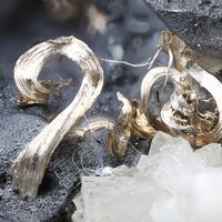 Acanthite & Native Silver