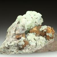 Copper & Prehnite