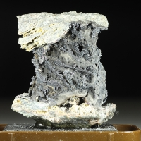 Native Silver Proustite & Fluorite