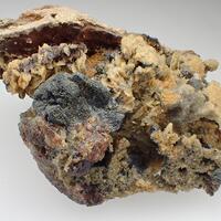 Freibergite Siderite & Sphalerite