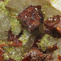 Dussertite & Bariopharmacosiderite