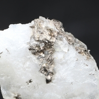 Chekhovichite Melonite Native Gold & Tellurobismuthite