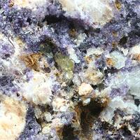Bastnäsite-(Ce) & Fluorite