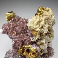 Chalcopyrite Eisenkiesel & Siderite