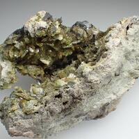 Axinite-(Mn) & Johannsenite