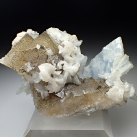 Baryte Dolomite & Fluorite