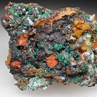 Agardite-(Ce) Smithsonite & Cuprian Adamite